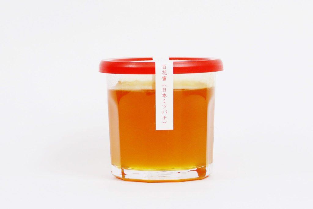 山梨産 良三おじいさんの日本ミツバチ百花蜜 Lサイズ(300g)