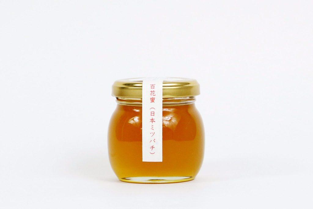 山梨産 良三おじいさんの日本ミツバチ百花蜜 Mサイズ(120g)
