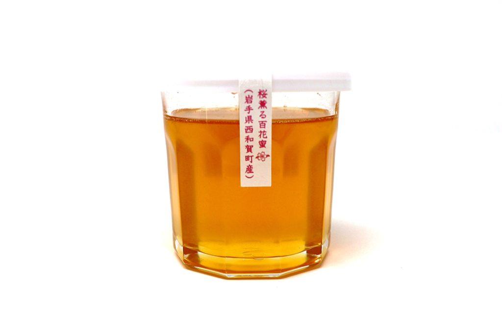 ★数量限定★岩手県西和賀町産桜薫る百花蜜 Lサイズ(300g)